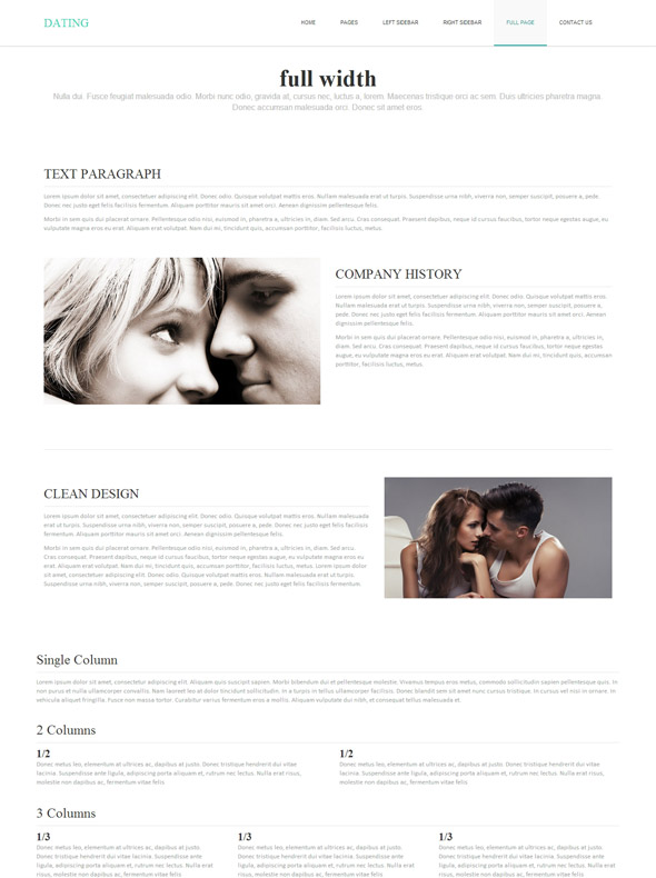 dating website css template Download over 7,000+ premium website templates, web templates, flash templates and more.