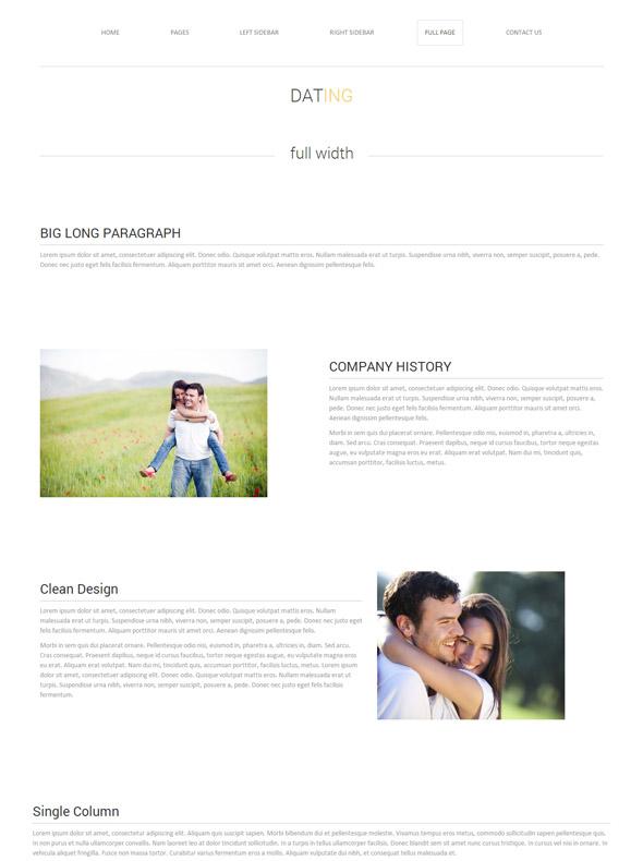 dating web template love dating website templates dreamtemplate. Black Bedroom Furniture Sets. Home Design Ideas