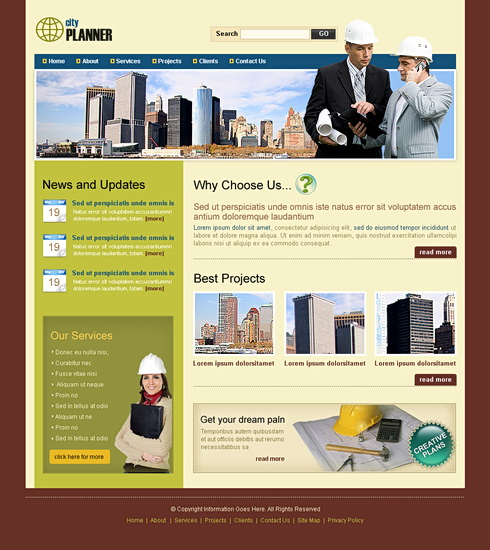 Property Website Template - 6534 - Construction & Engineering ...