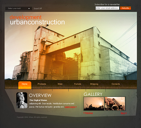 Buildings HTML Template - 0994 - Construction & Engineering ...