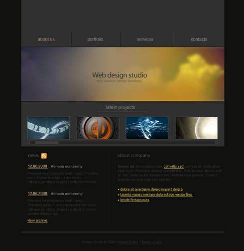 3457 Flash Design Consulting Flash Templates Dreamtemplate