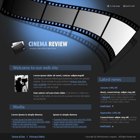 4132 - Flash - Entertainment & Media - Flash Templates - DreamTemplate