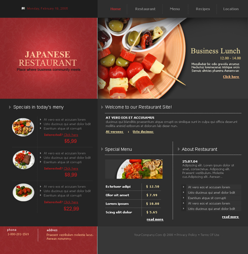 3436 - flash - food  u0026 restaurant