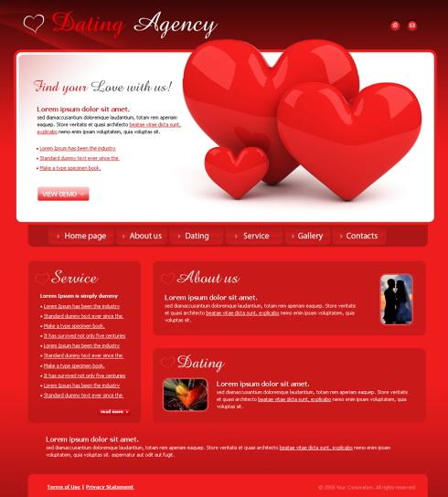 Wonderful DreamTemplate  Love Templates Free