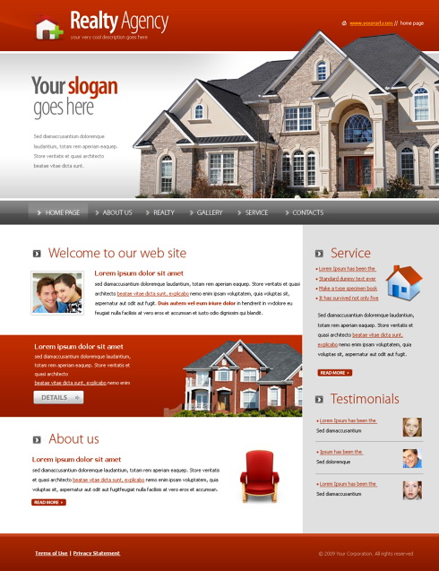 5573 real estate building website templates dreamtemplate
