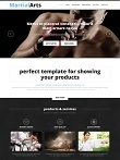 Martial Arts Website Template Free Member Download